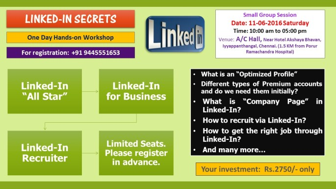 LINKED-IN SECRETS